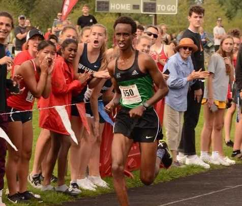 Parkrose's Ahmed Ibrahim was third in the 5A championships last year.