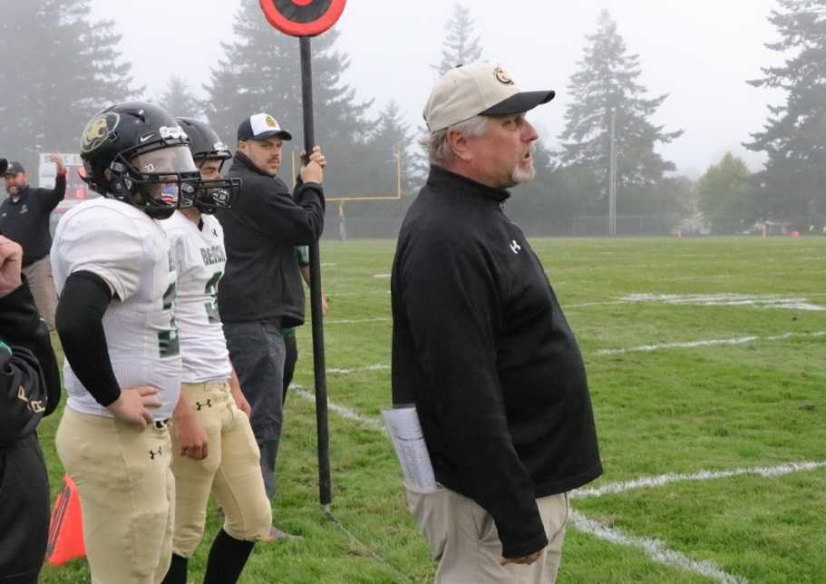 Kevin Swift has coached Gold Beach to five state championship games. (Photo courtesy Gold Beach HS)