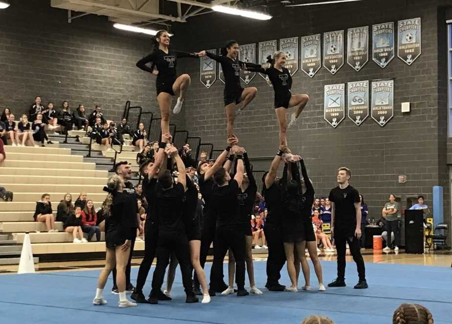 The Tualatin Timberwolves confidently hit their pyramid at the Pacer Invitational.
