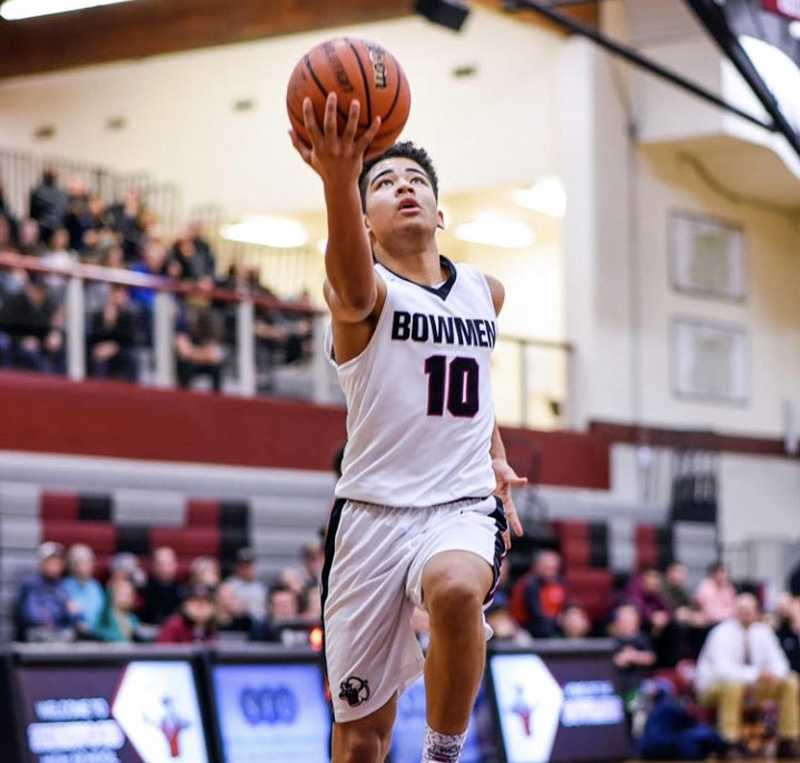 Jamison Guerra averaged a 6A-leading 6.6 assists per game as a junior. (Photo by Amy Bergstrom)
