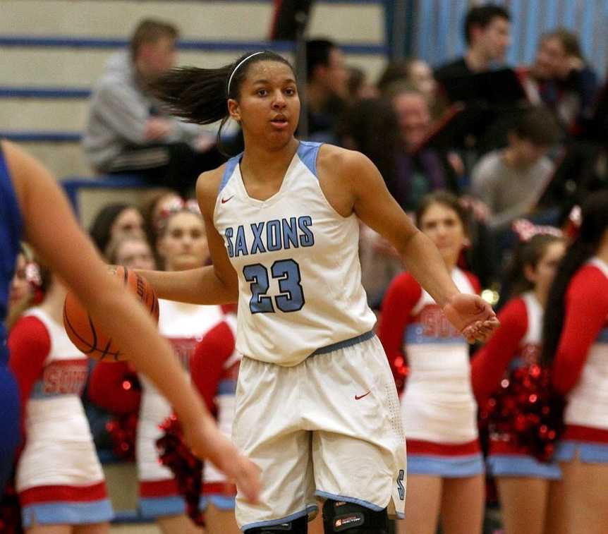 South Salem senior Victoria Stafford hopes to lead the Saxons back to the state tourney before turning her attention to college