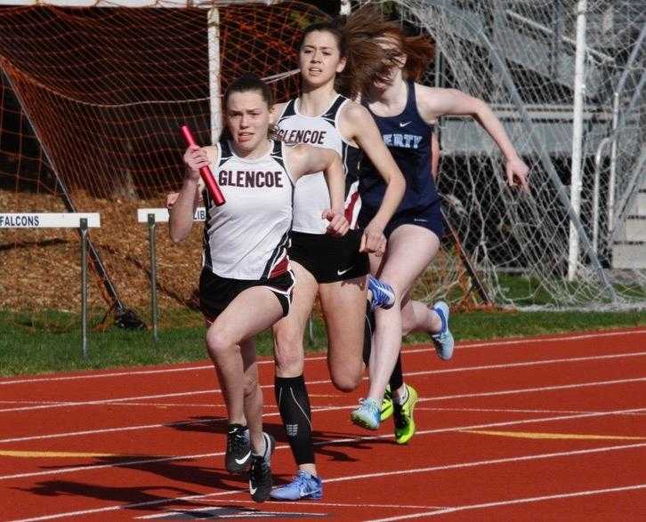 The track state championships are scheduled for the last week of May. (Photo by Norm Maves Jr.)