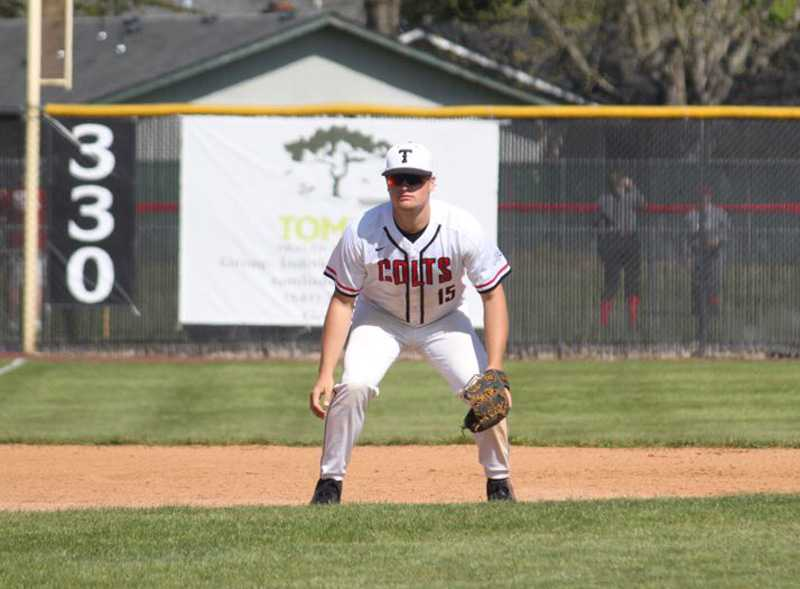 Cade Crist will play catcher next spring for Tacoma Community College