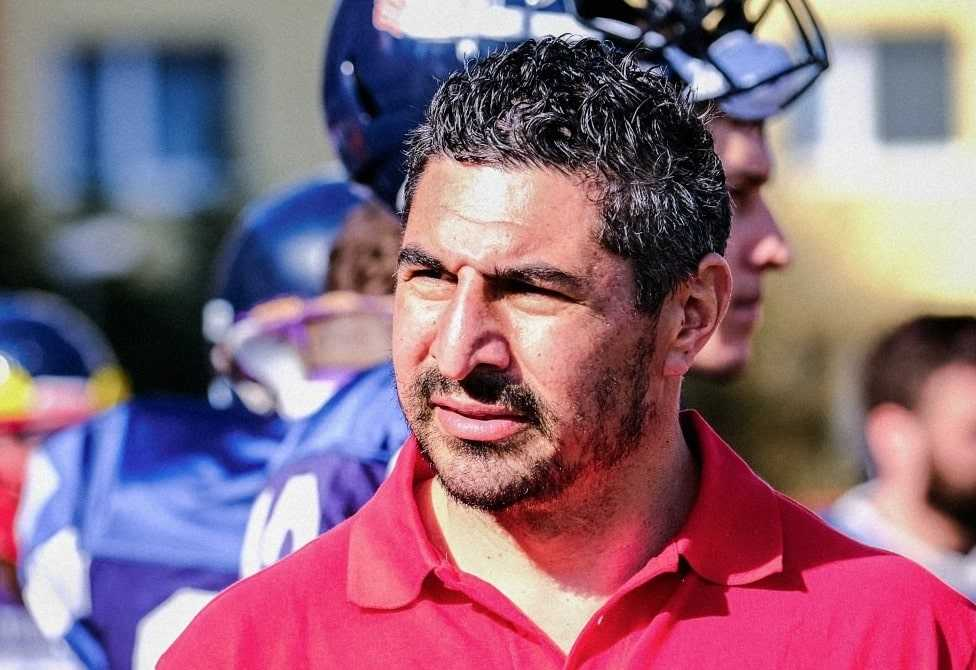 Jesse Thompson was a head coach for three seasons in Europe. (Photo courtesy Franklin HS)