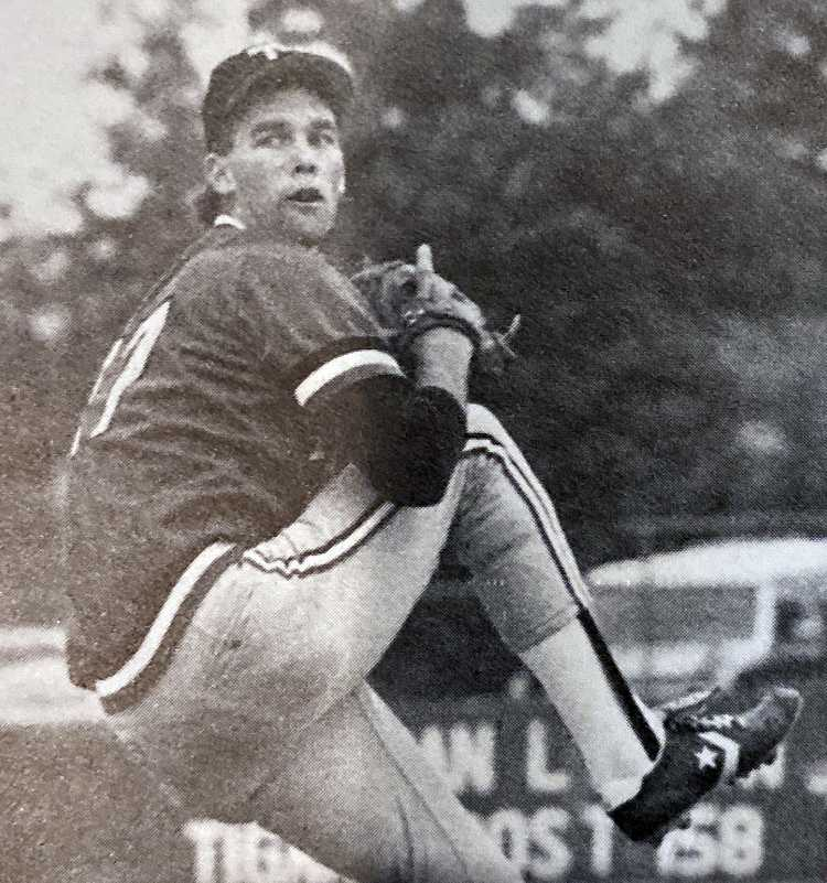 Southpaw hurler Steve Cooke was 10-0 on the mound his senior year and fanned 18 in leading Tigard to the state title