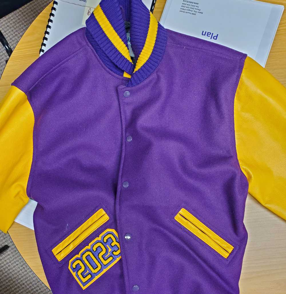 Baker may field lettermen's jackets as early as this year if fundraising efforts are successful