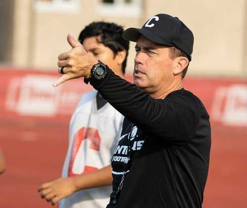 Shane Hedrick led Central to the state playoffs 15 times in 19 seasons. (Chase Allgood/OregonLive)