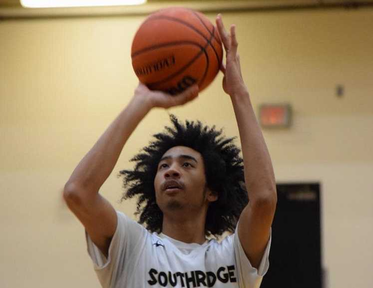 Southridge senior Brock Henry scored a team-high 22 points Friday.