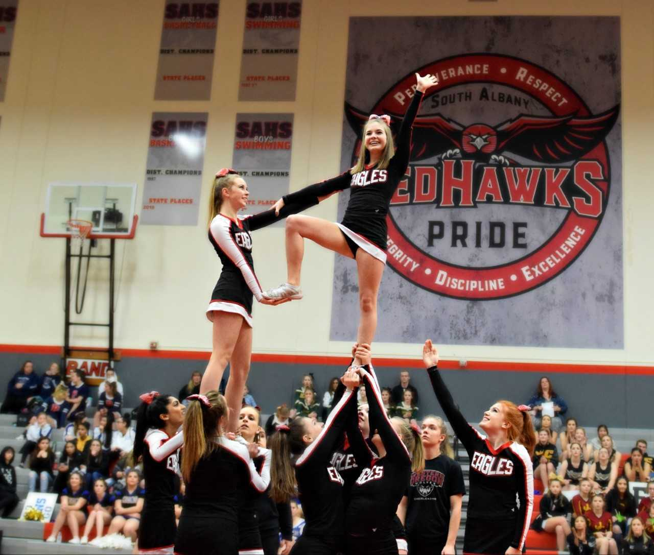 Santiam Christian looked impressive in its victory over 2018 state champion Central Linn in the 1-3A division.