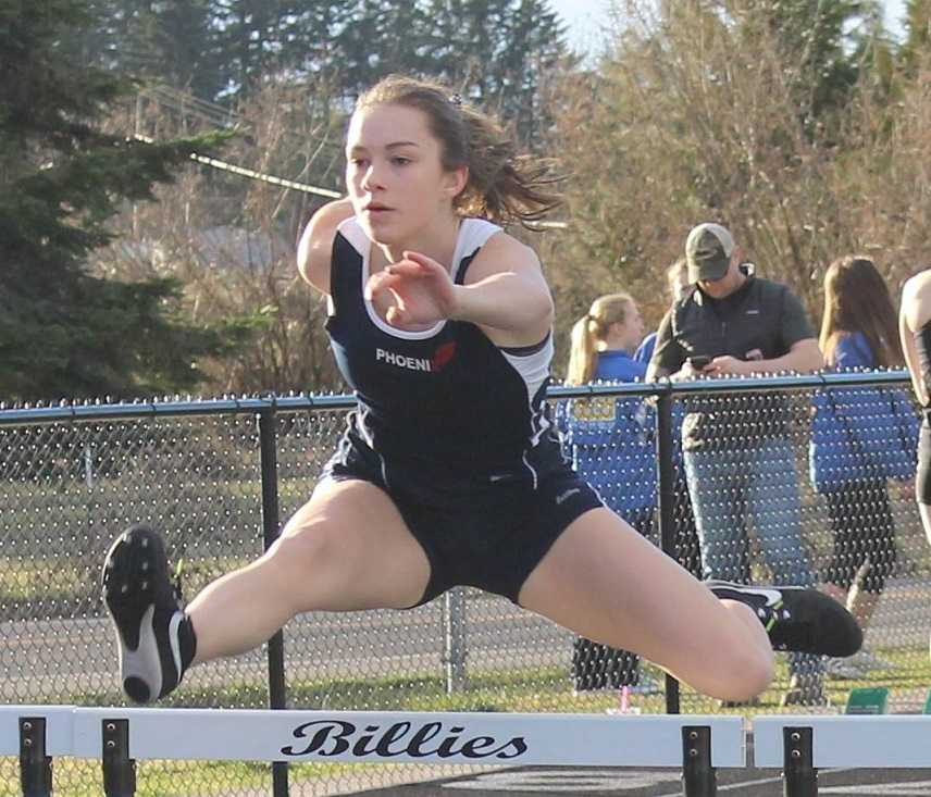 Phoenix's Sienna Bauer is close to making the all-time 4A top 10 in the 100 hurdles and triple jump.