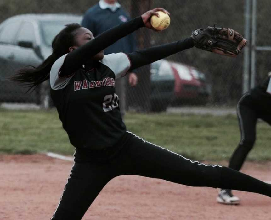 Nicki Derrick pitched North Douglas to the 2A/1A title as a freshman in 2017. (Photo by Becky Gerrard)
