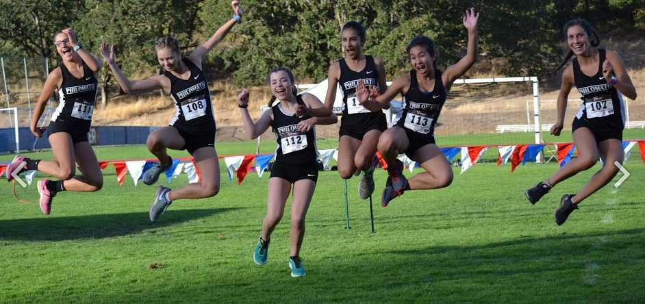 Fun is part of the formula at Philomath XC. Photo courtesy of Philomath XC