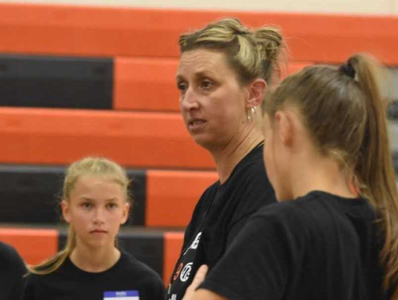 Scio coach Lori Ramsay was an all-American in college at Western Oregon. (Photo by Jeremy McDonald)
